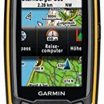 Garmin 010-01199-00 - GPS de mano (160 x 240, mapas de Europa general, 2D, 3D), negro y naranja (importado)