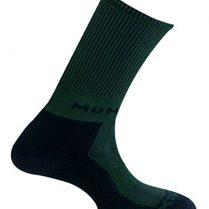 MUND Pirineos - Calcetines para hombre, color verde