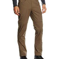 North Face Straight Paramount 3.0 Convertible - Pantalón para hombre, color marrón, talla 38