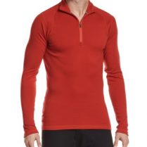 SmartWool NTS Mid 250 - Camiseta de compresión con cremallera para hombre