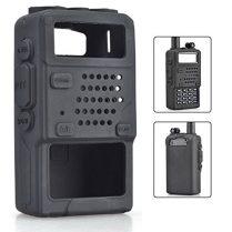 Vococal - Funda Portátil de Cubierta Protectora de Silicona Carcasa Suave para Baofeng Two Way Radio Móvil UV5R 5RA 5RB 5RC 5RD TYT THF8 Walkie-Talkie