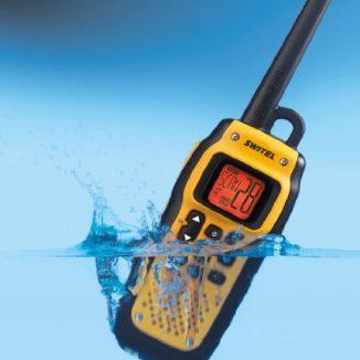 Switel wtf-800Set 2Walkie-Talkies impermeables 10km recarga