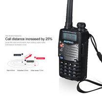 LESHP Walkie Talkie (UHF 400-480 MHz, 128 canales, batería de 1800mA, alcance de hasta 10 km )