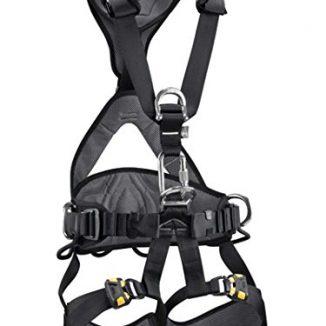 Petzl Avao Bod C71AAA 1 - Arnés de escalada, color negro